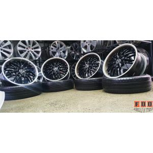 """4X18"""" OX 631 WHEELS ET35 5/114.3 JDM AND FORD FITMENT"""